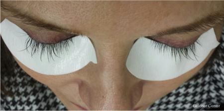 X-treme Lash Extensions for client 1829 before and after photos - Before Image